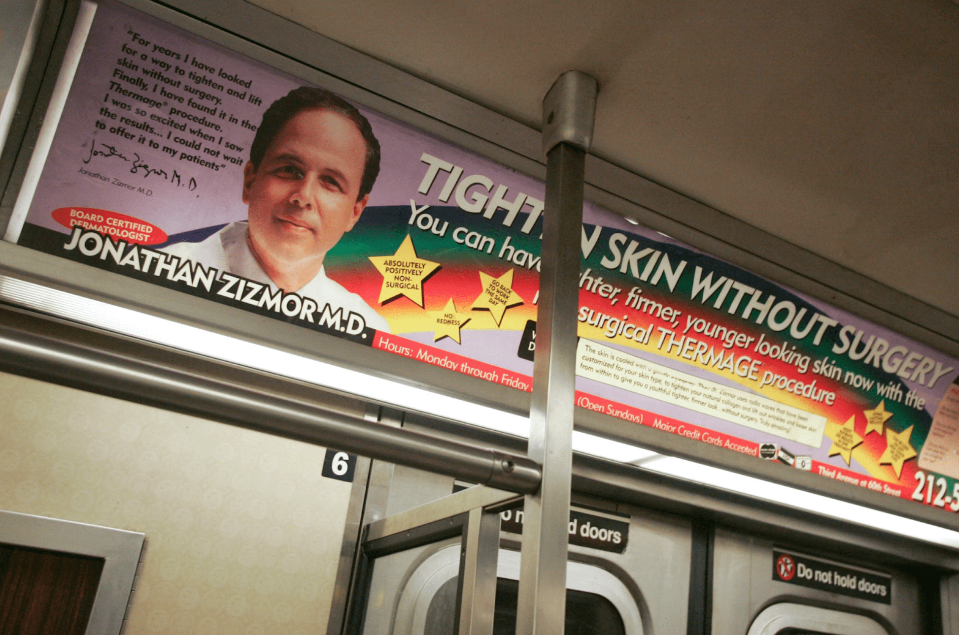 Jonathan Zizmor Ad
