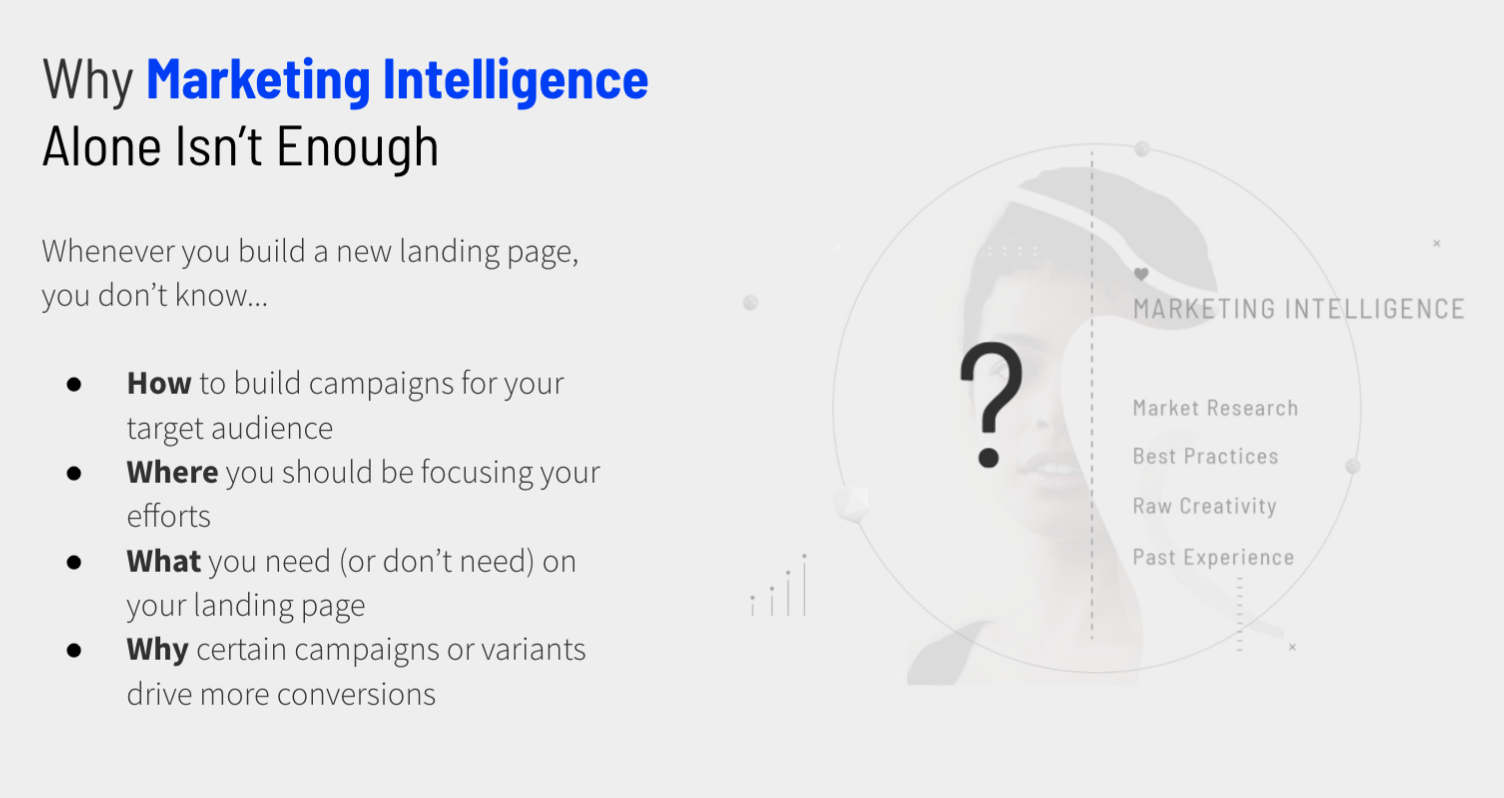 Why marketing intelligence isn't enough