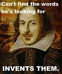 Shakespeare copywriting content blogs