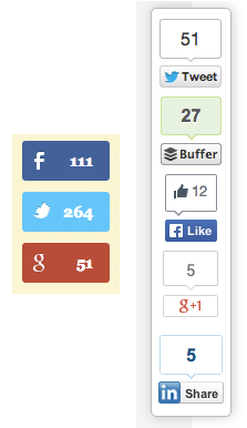 Social Sharing Buttons