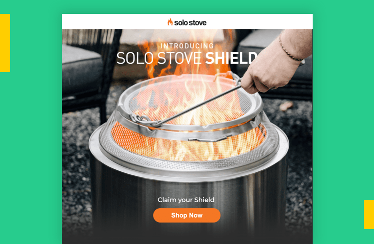 Sales Landing Page Examples - Solo Stove