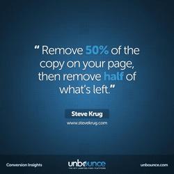 Steve Krug Conversion Insights