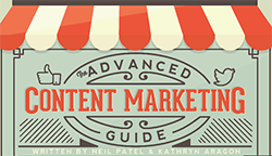 The Advanced Guide to Content Marketing copy