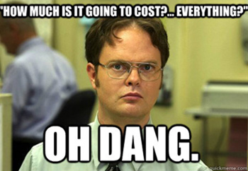 The value of a Landing Page - How much is it going to cost?