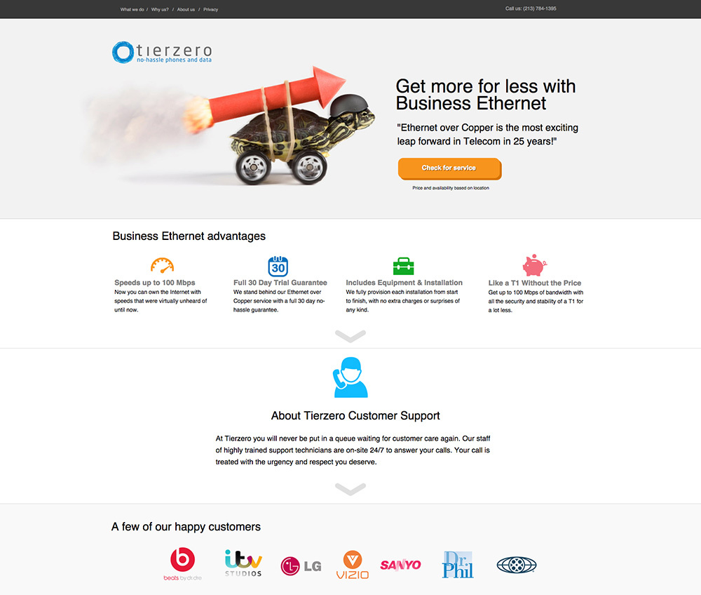 landing page template image