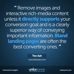 Tim Ash Conversion Insights