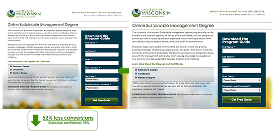 University of Wisconsin Extension Conversion Case Study