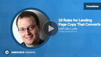 unbounce webinar ian lurie copywriting that converts