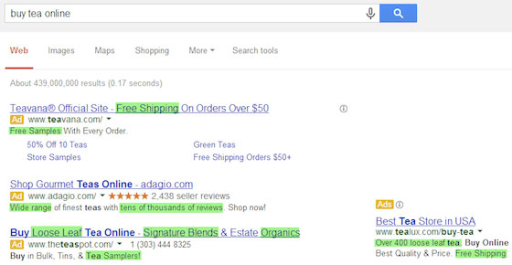 ab-test-adwords-buy-tea-online