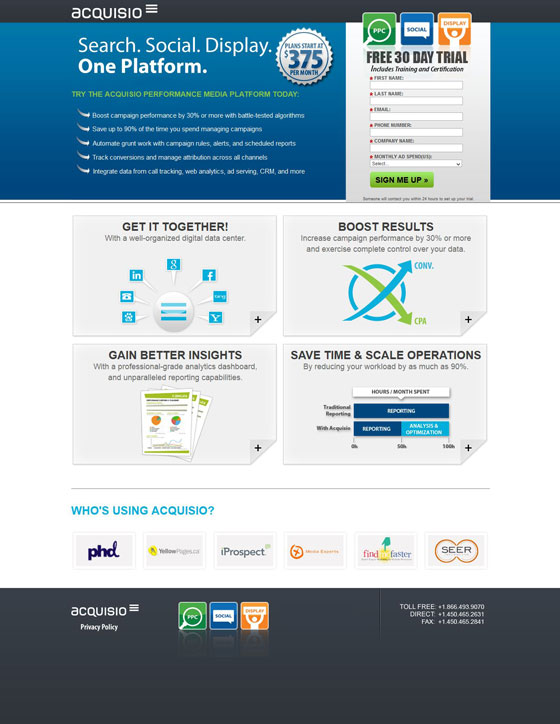 8 Free Trial Landing Page Examples With Testing Ideas