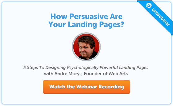 Andre Morys - 5 Steps To Designing Psychologically Powerful Landing Pages