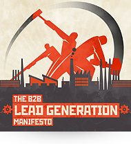 b2b lead generation manifesto infographic
