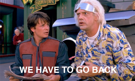 Back to the Future meme