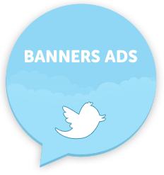 banner ad tweets