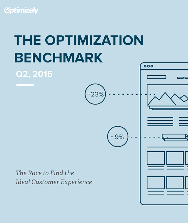 Optimizely Benchmark ebook cover image