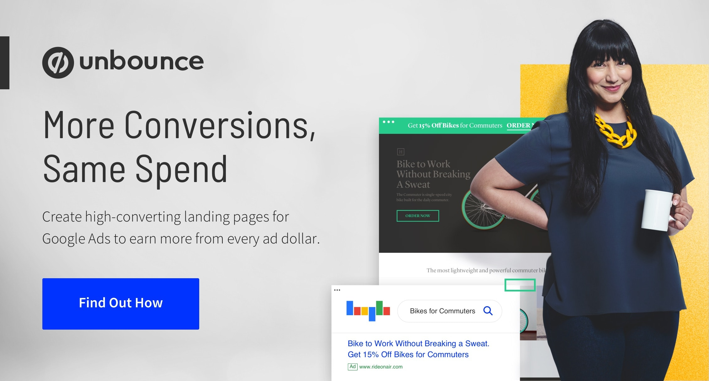 Landing pages for pay per click