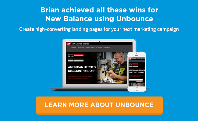 38df971c7fb6 How New Balance Drove 200% More Sales at Half the Cost Using Unbounce