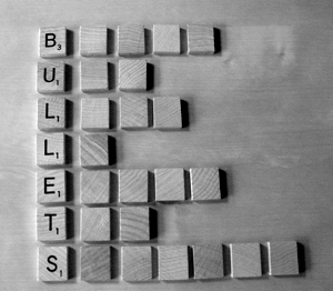 use bullet points for readabililty