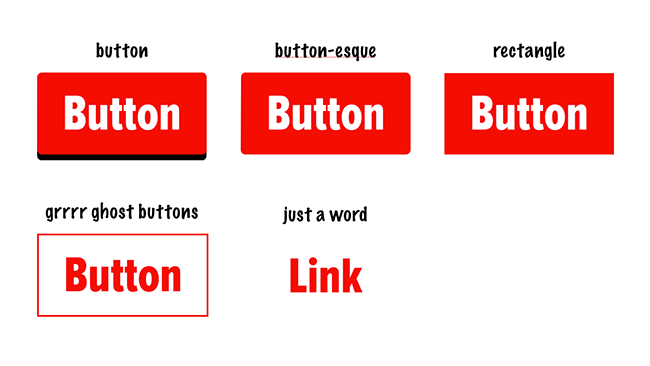 Button affordance
