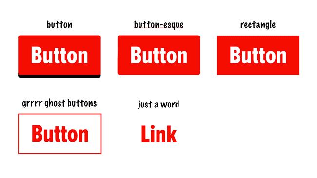 Button affordance