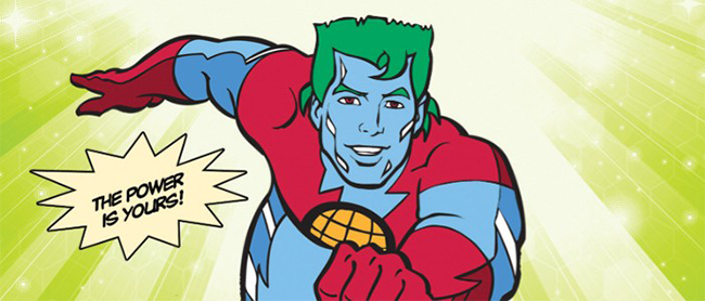 Image of Captain Planet