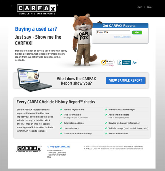 Free Carfax Hack >> Carfax Free Trial 2013 | Autos Post