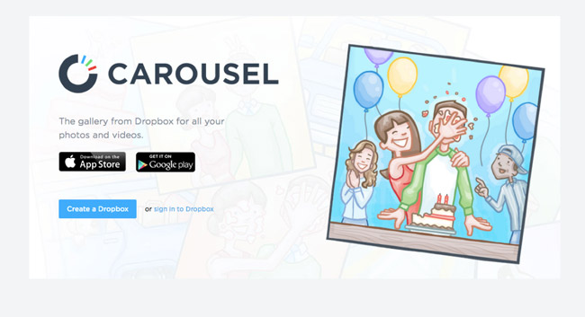 carousel-landing-page