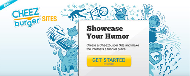 Cheez burger CTA copy