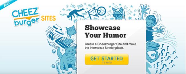 Cheez burger CTA copy