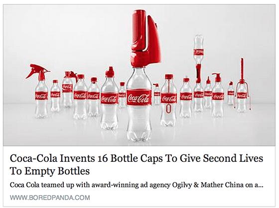 Coca Cola campaign example
