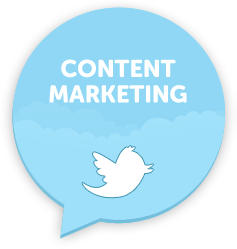content marketing tweets