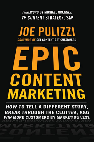 Epic Content Marketing-Buch