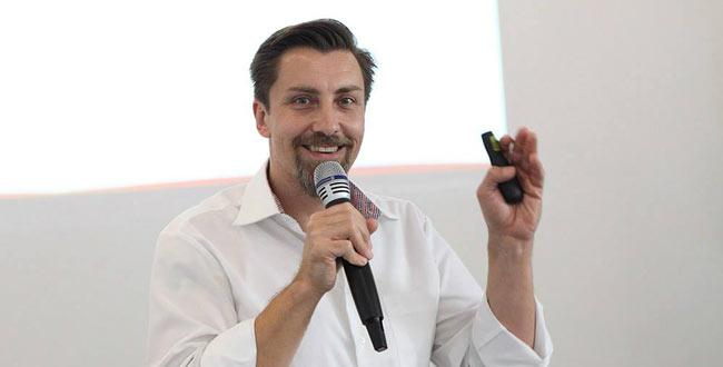 Andreas Wander auf den Content Marketing Masters 2016