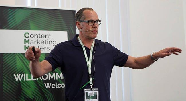 Dr. Stephan Tiersch auf den Content Marketing Masters 2016