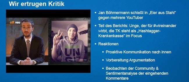 Content Marketing Masters 2016: Jan Böhmermann legt sich mit YouTubern an