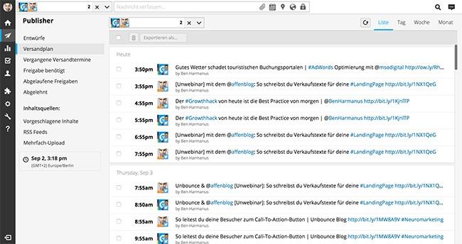 Content Marketing Tools: Hootsuite