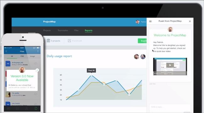 Content Marketing Tools: Intercom In-App-Nachrichten nutzen