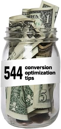 544 landing page conversion optimization tips
