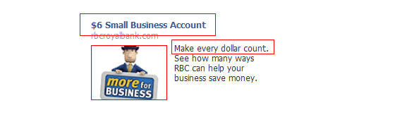 Conversion: RBC Facebook ad