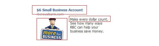 Conversion: RBC Facebook ad