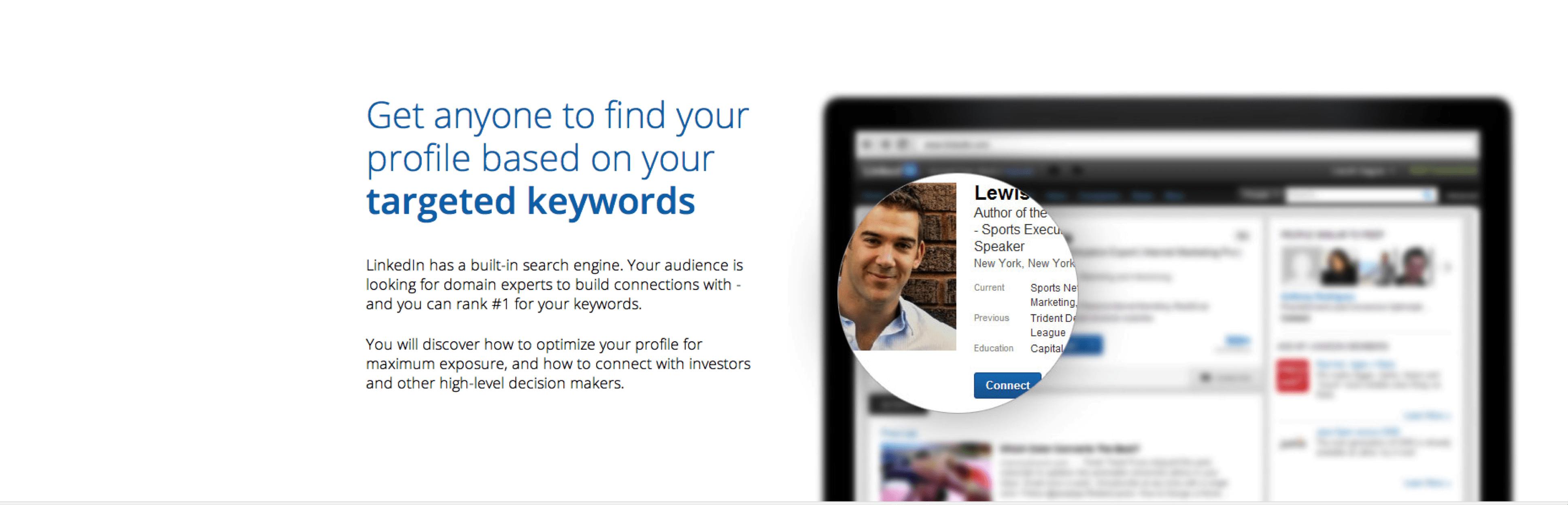 Copywriting: LinkedIn course example