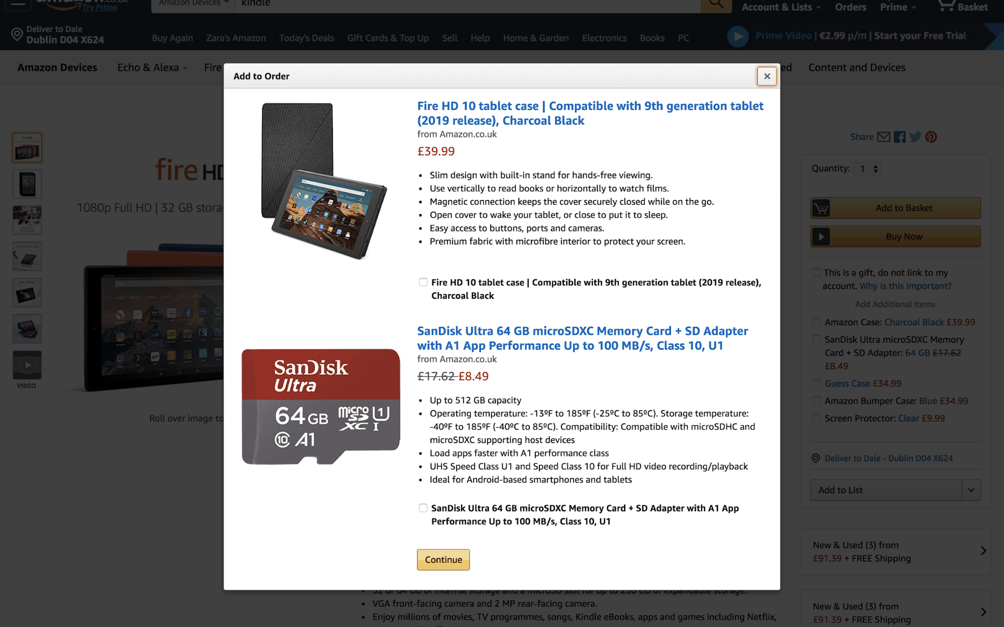 Creative Popup Examples - Amazon