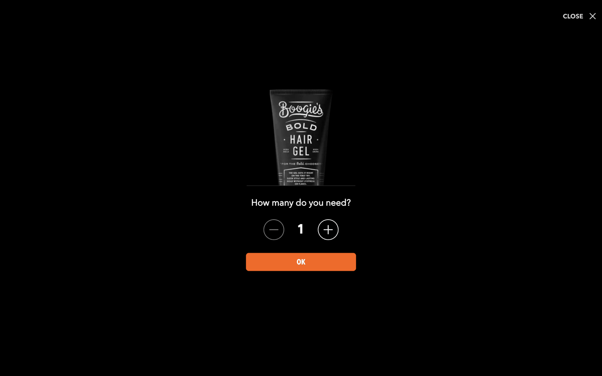 Creative Popup Examples - Dollar Shave Club