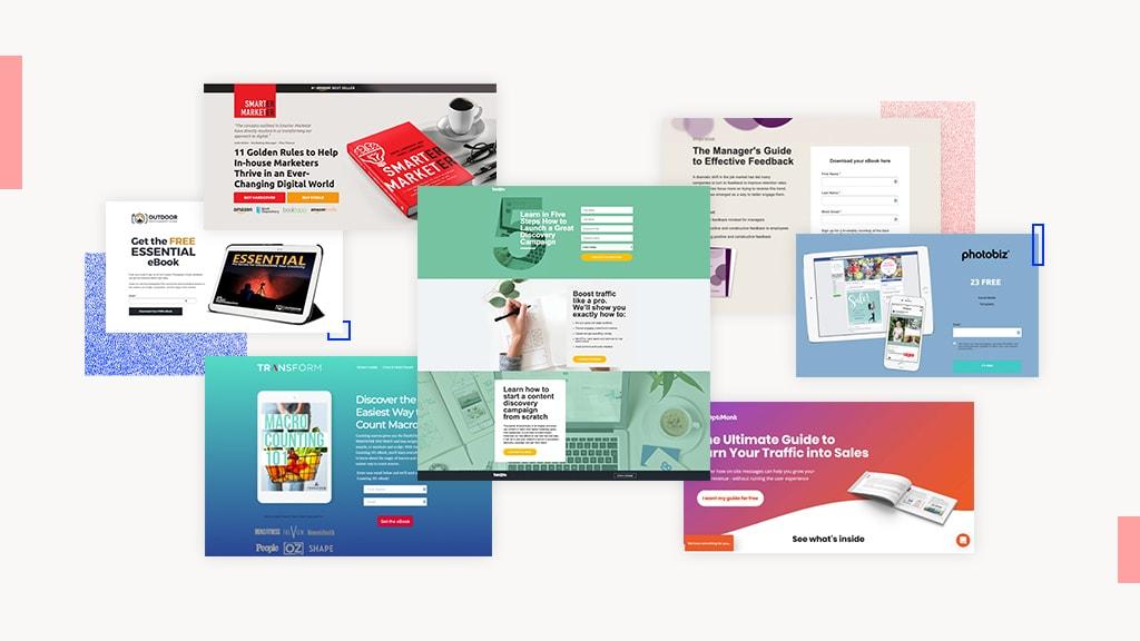 8 Genius Ebook Landing Page Examples That Convert