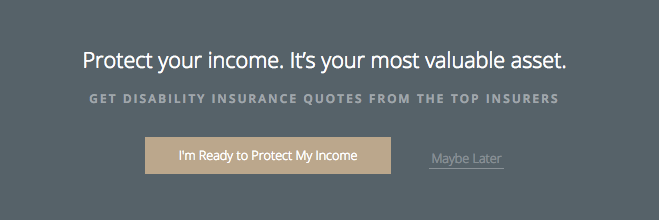 "Focus on end results: ""Protect your income."""