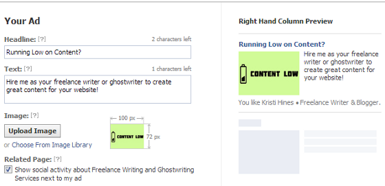 facebook-advertising-design-your-ad