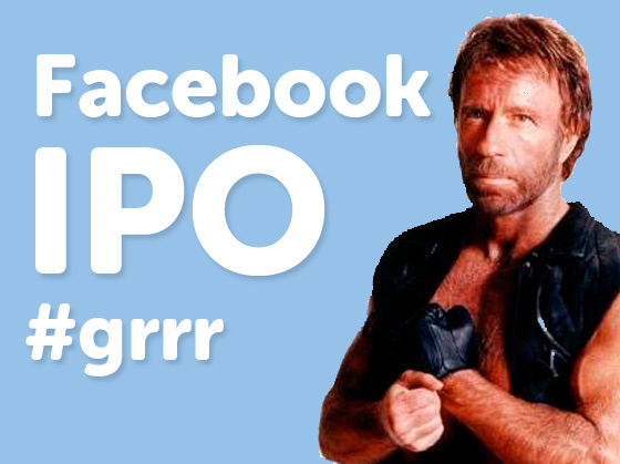 Chuck Norris Facebook IPO