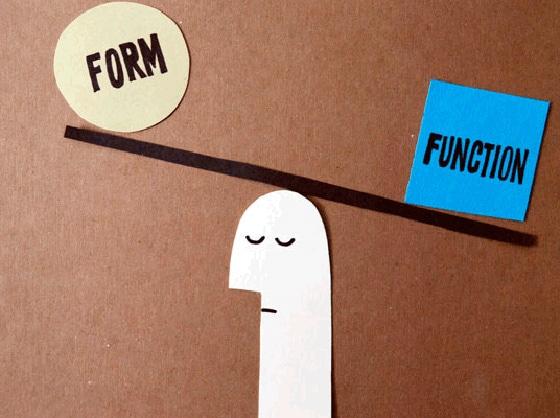 Landing Page Design - Function over Form