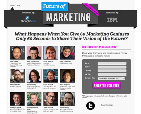 Adult web site marketing