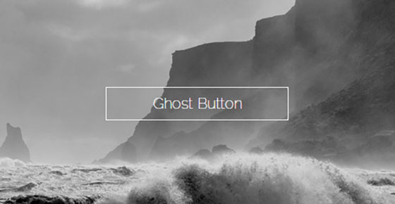 Ghost buttons on landing pages